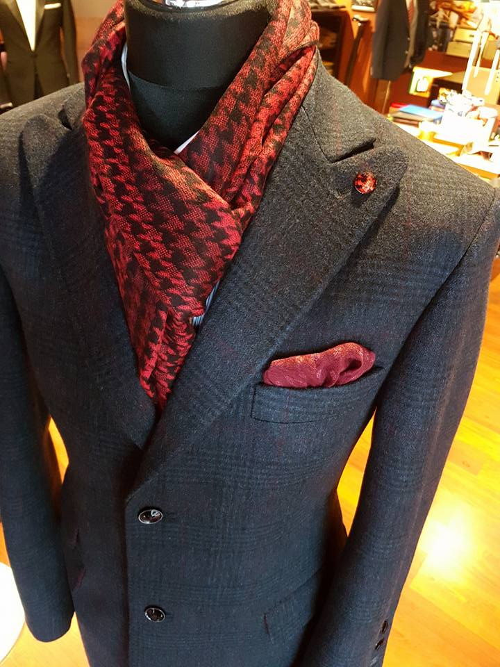 Overcoats w kratę