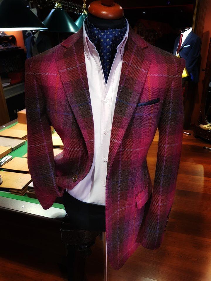 Oryginalny Harris Tweed